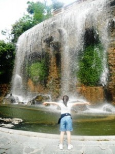 Waterfall at Castle Hill, Nice